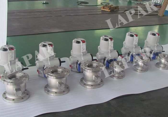 Electric Actuated Segment Ball Valve