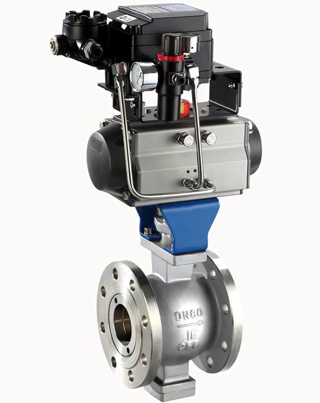 segment ball valve