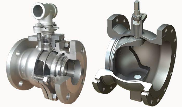 lapar segment ball valve